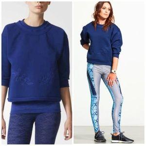 Adidas Stella McCartney Studio navy Sweatshirt NWT